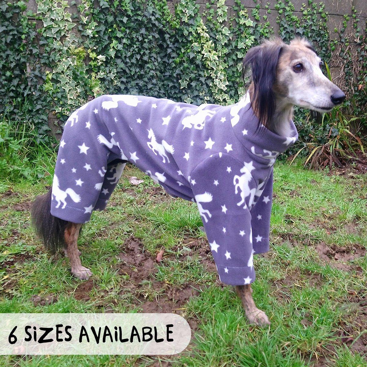 Image of Greyhound fleece pyjamas