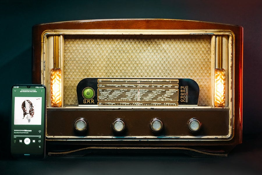 Image of GMR PARIS SPECIAL B (1950) RADIO D'EPOCA BLUETOOTH