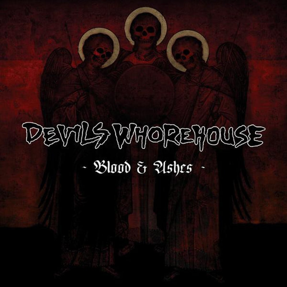 Image of Devils Whorehouse - Blood & Ashes CD
