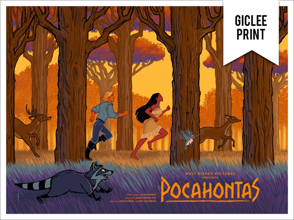 Image of POCAHONTAS (REGULAR) - GICLEE - LIMITED EDITION