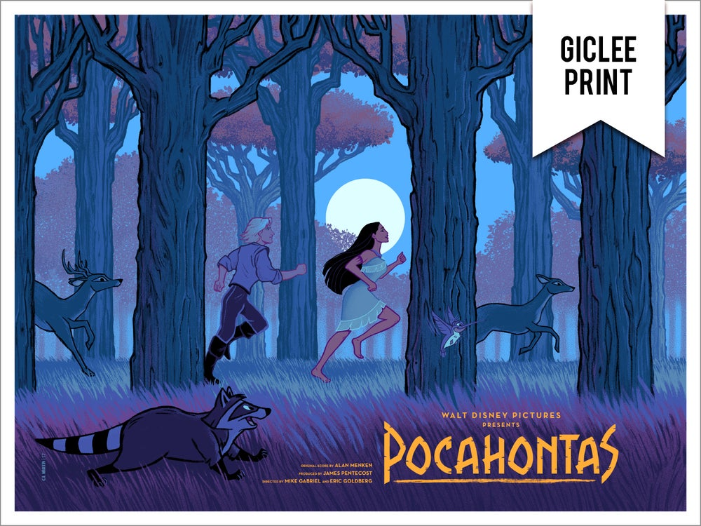 Image of POCAHONTAS (VARIANT) - GICLEE - LIMITED EDITION