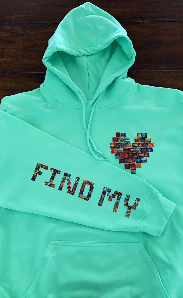 "Image of Limited Edition Mint ""Find My Love"" Sleeve hoodie"