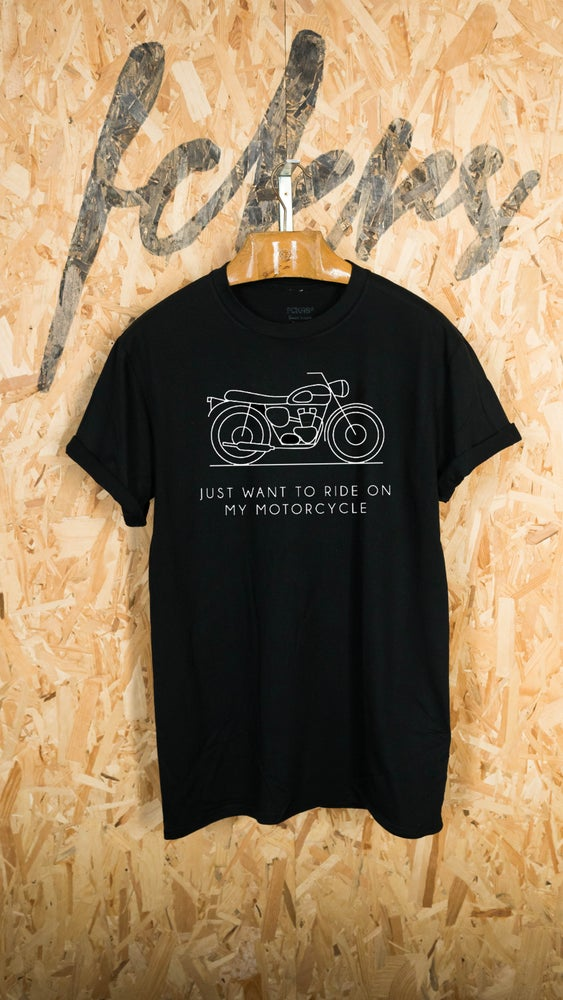 Image of Motorcycle Black By FCKRS®