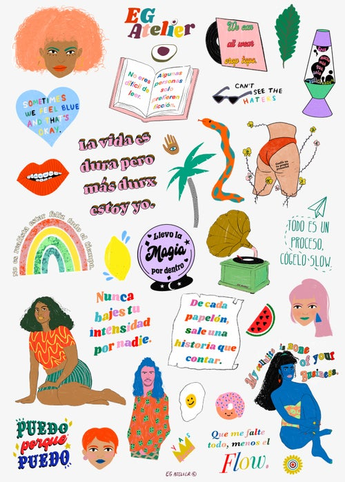 Image of Sticker Sheet No. 3
