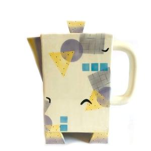 Image of Rita Duvall Memphis Milano Style Ceramic Pitcher