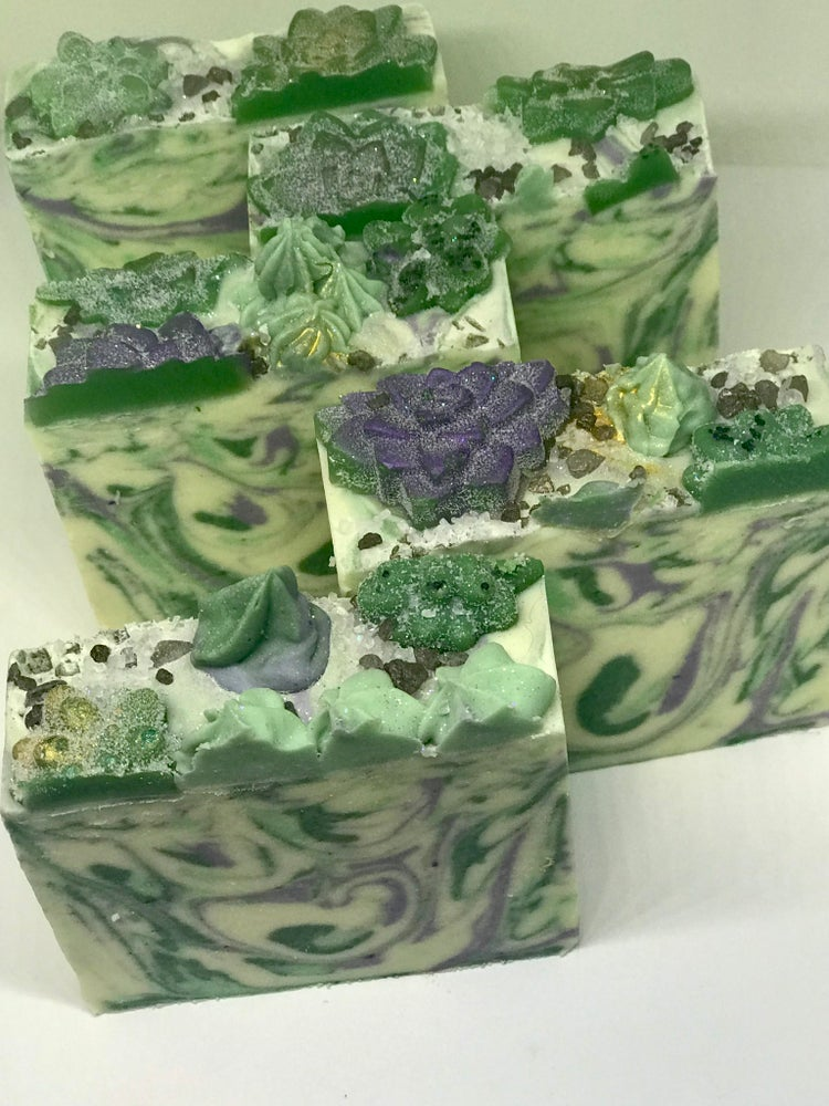 Image of Succulent Soap| Cold Process Artisan Bar