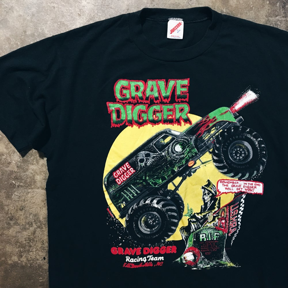 Image of Original 90's Grave Digger Tee.