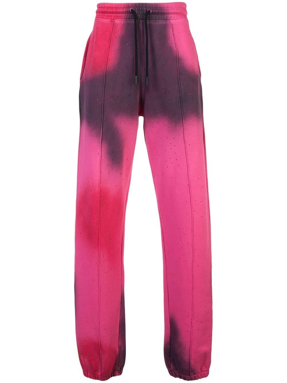 Image of OFF WHITE BRAND TIE DYE SWEATPANTS
