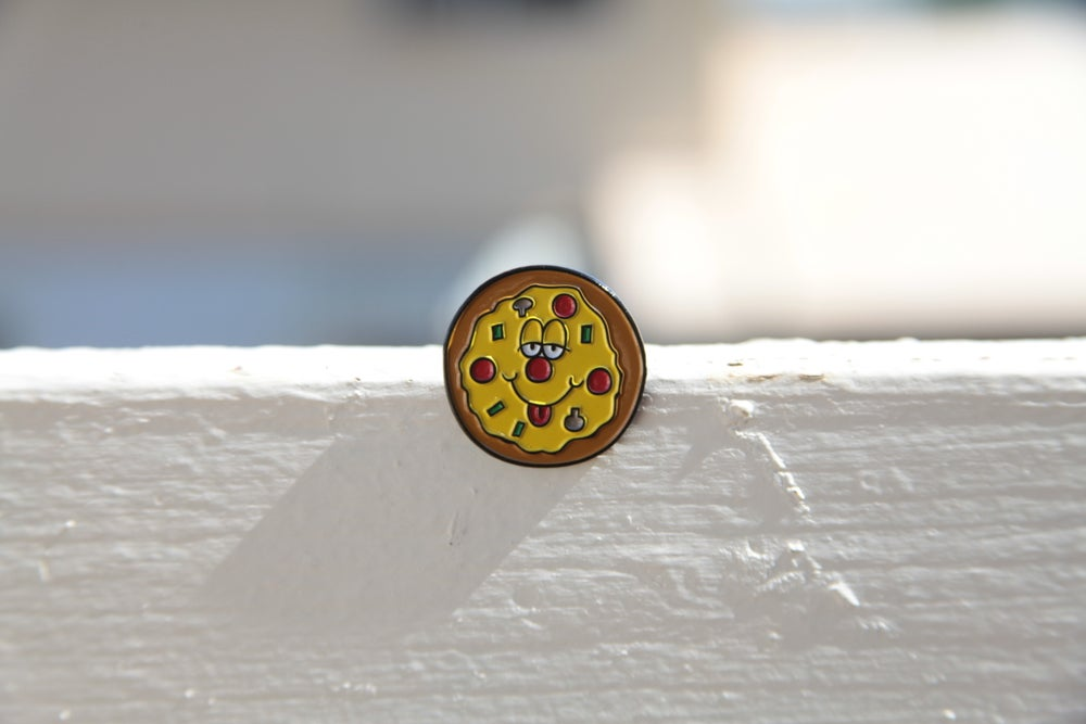 Image of Silly Pie Lapel Pin