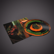 "Image of Hayvanlar Alemi- Psychedelia In Times Of Turbulence - Lp ""Burst"" Orange/Green/Black"
