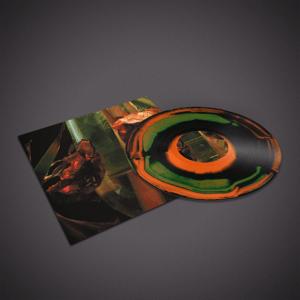"Image of Hayvanlar Alemi- Psychedelia In Times Of Turbulence - Lp ""Burst"" Orange/Green/Black"