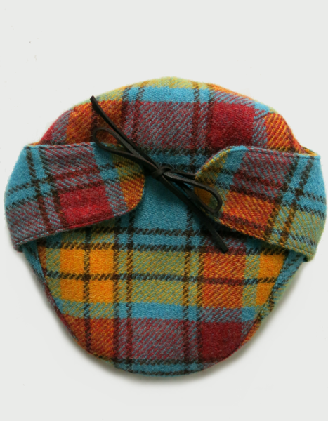 Image of 'HODGES' CAP [HARRIS TWEED]