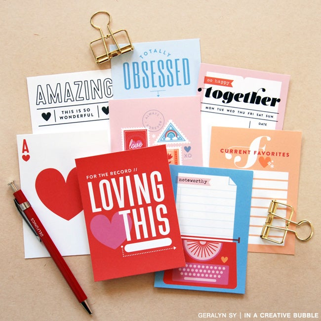 Image of Loving This Journaling Cards (Digital)