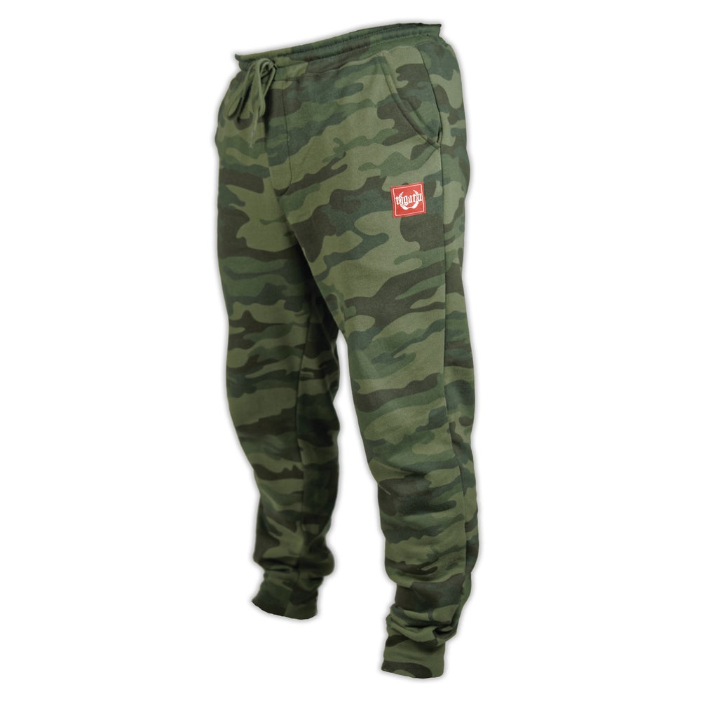 Image of Men's Jogger - Green Camo