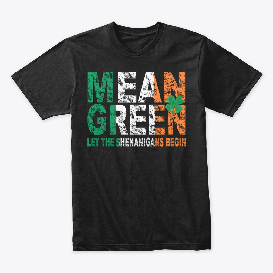 Image of MEAN GREEN IRISH ST. PATTY'S TEE