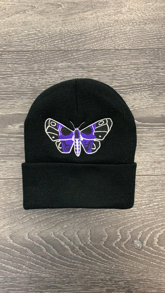 Image of DEATH MOTH BEANIE