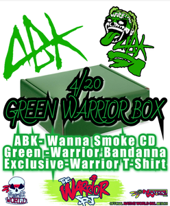 Image of 4/20 Green Warrior Box