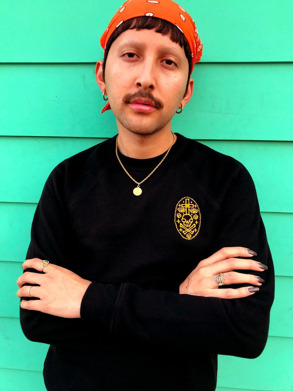 Image of Crossbones PL Sweatshirt