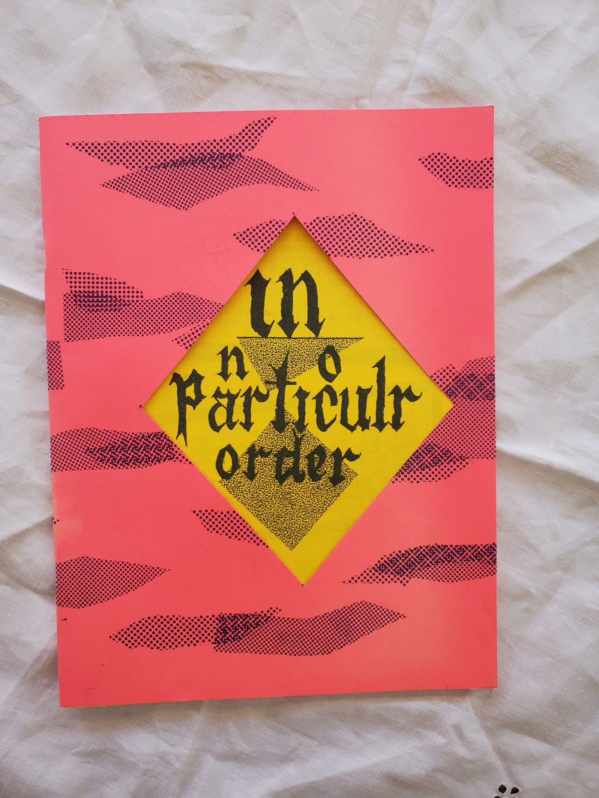 Image of In No Particular Order Art Zine by Abe Social (Silenzio Statico)