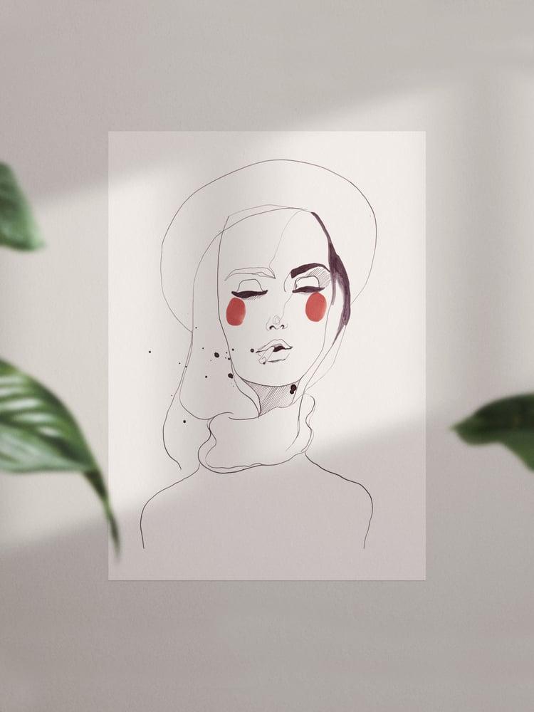 Image of Johanna Print