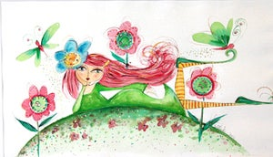 "Image of ""Whimsical Watercolour"" Fairy workshop"