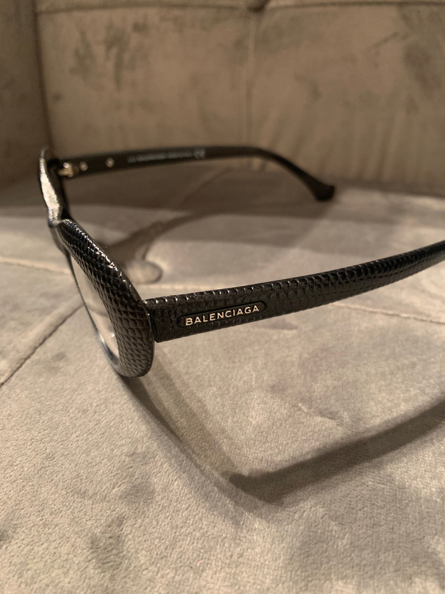 Image of BALENCIAGA CAT EYE GLASSES