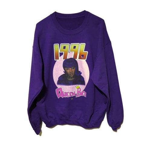 Image of KIM (Purple) [1996 4EV CREWNECK]
