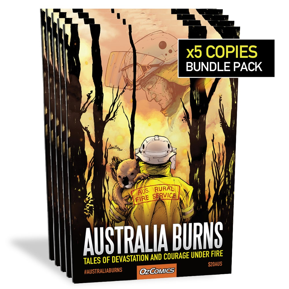 Australia Burns (5x pack)