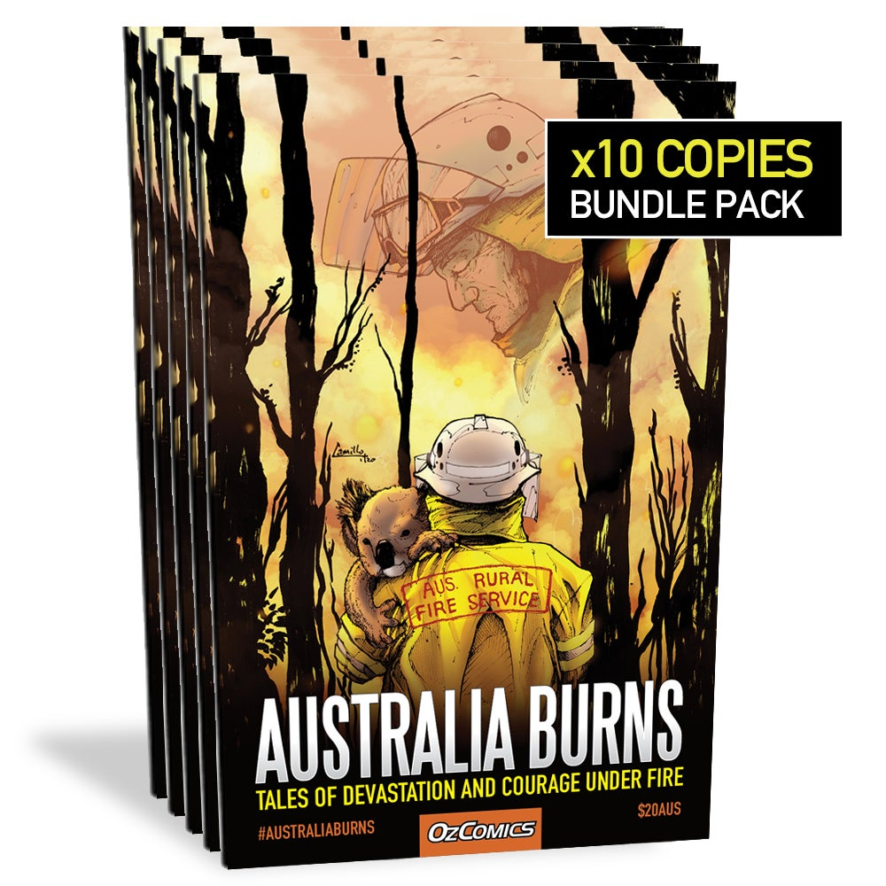 Australia Burns (10x pack)