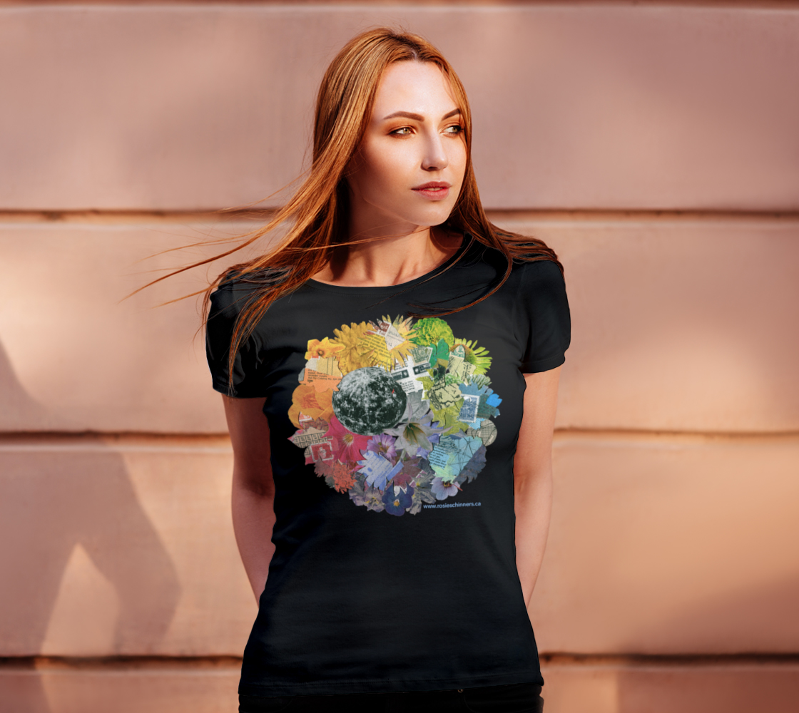 Image of Moon Wheel Women's Fit T-Shirt