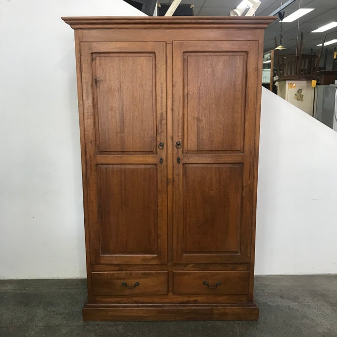 Image of TEAK WARDROBE