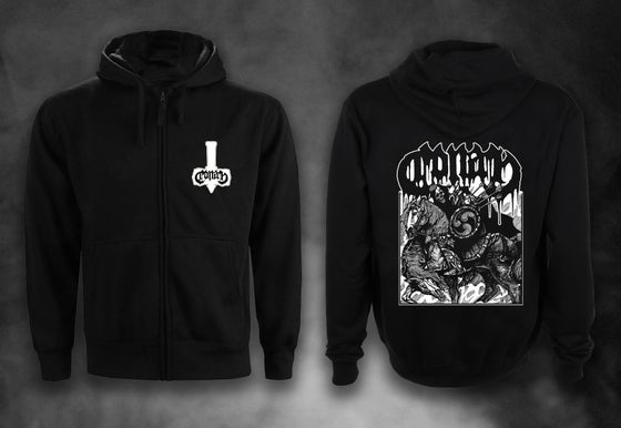 Image of Horseback Battle Hammer Hoodie XL ONLY