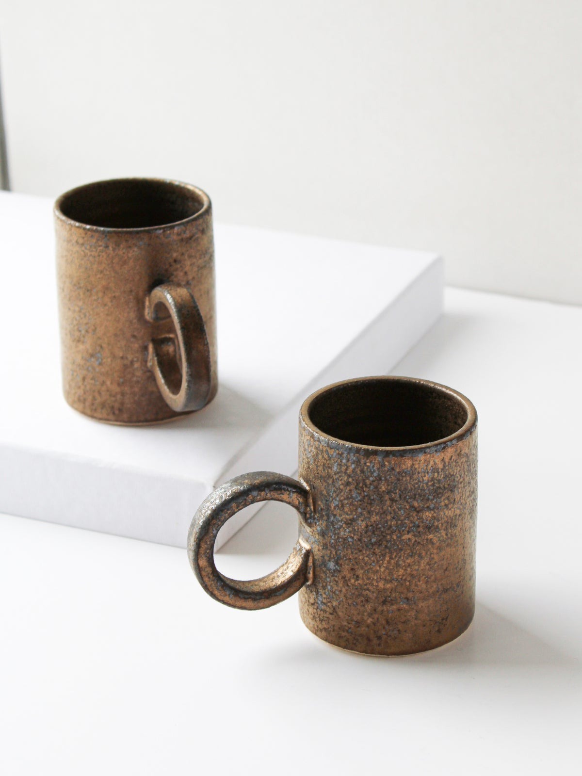 Image of espresso mug in gold