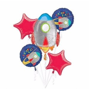 Image of Birthday Blast Balloon Bunch