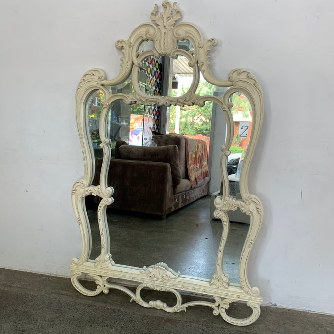 Image of FRENCH PROVINCIAL STYLED MIRROR