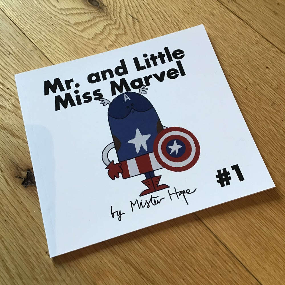 Image of Mr and Little Miss Marvel Book