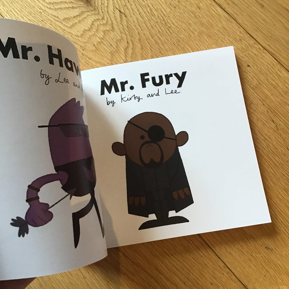 Mr and Little Miss Marvel Book