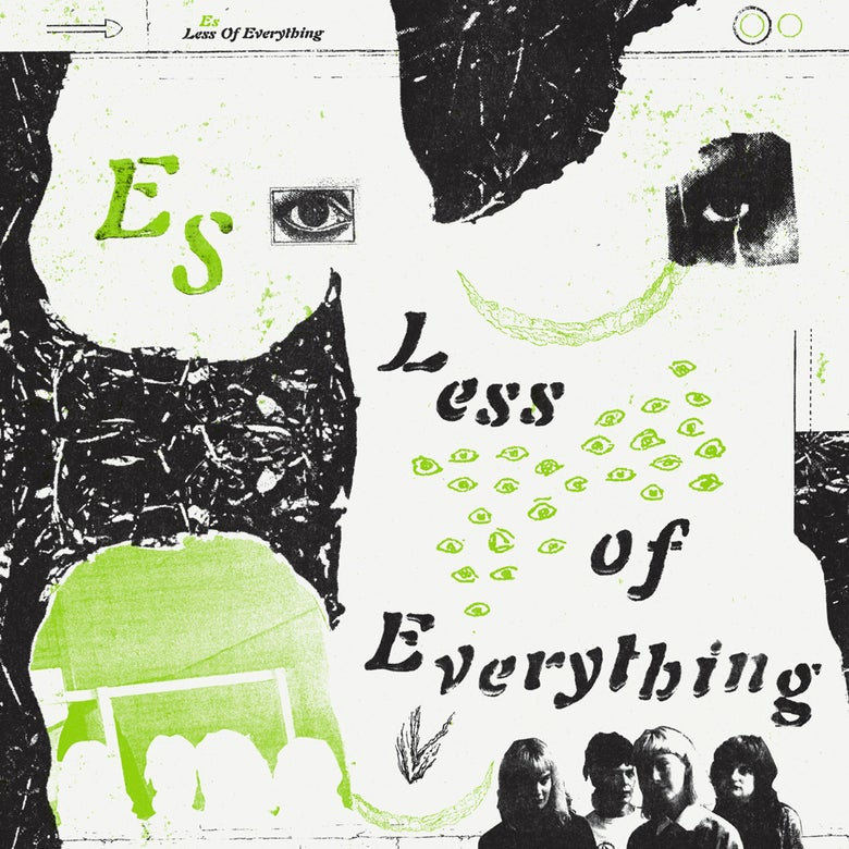 Image of ES - 'Less Of Everything' LP (Pre-order)