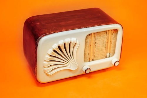Image of MM SHELL (1948) RADIO D'EPOCA BLUETOOTH