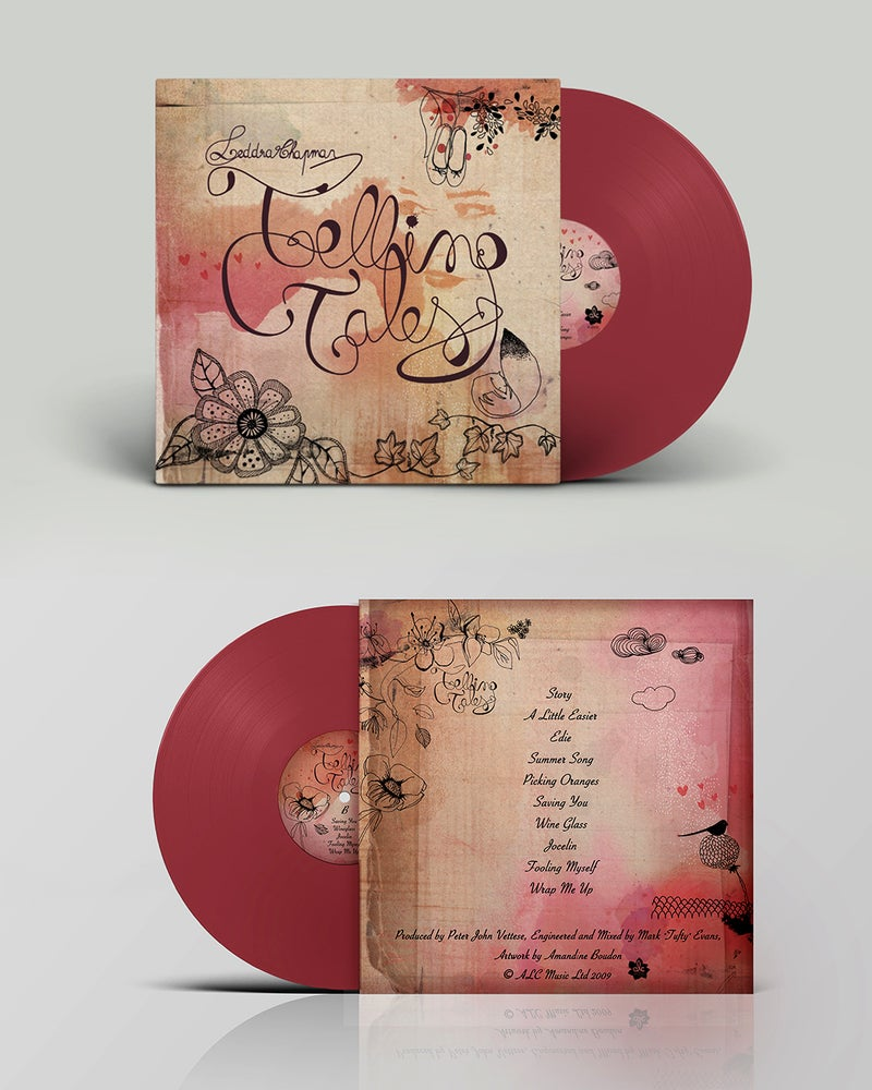 Image of Telling Tales Coloured Vinyl - 10 Year Anniversary Ltd Edition. (Oxblood Red)