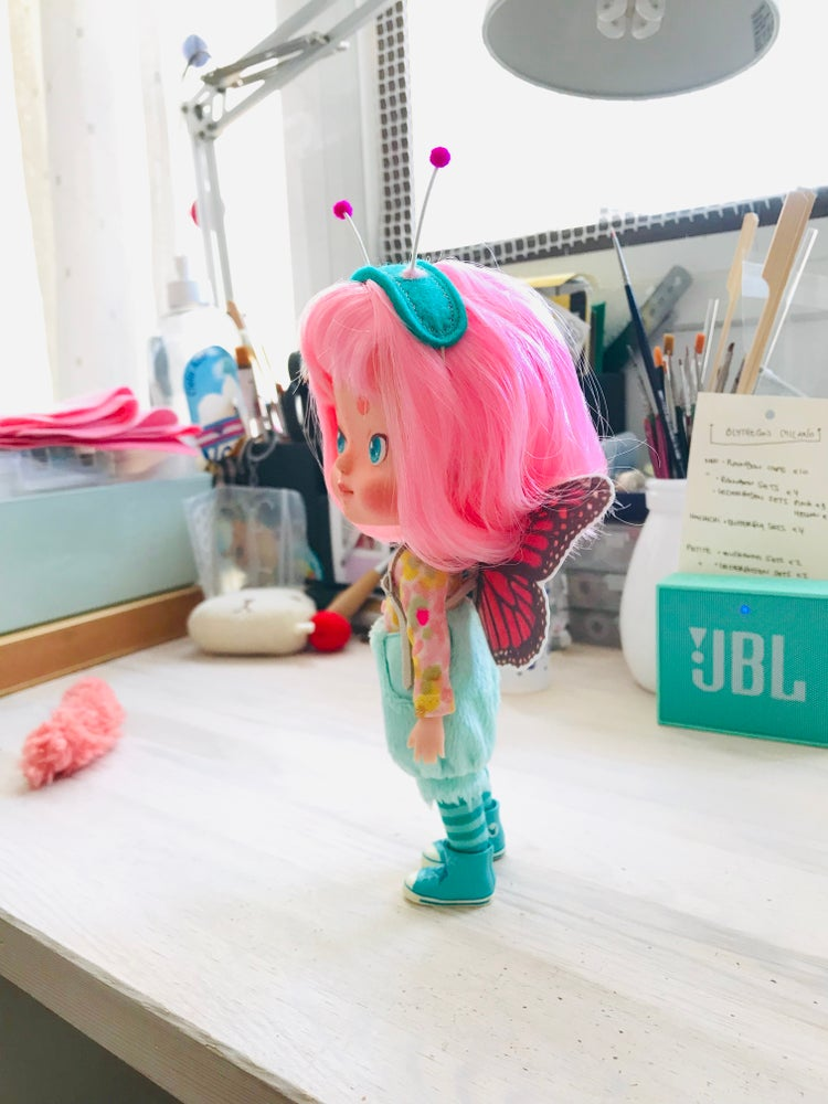 Image of Mint Butterfly set for Hachichi doll