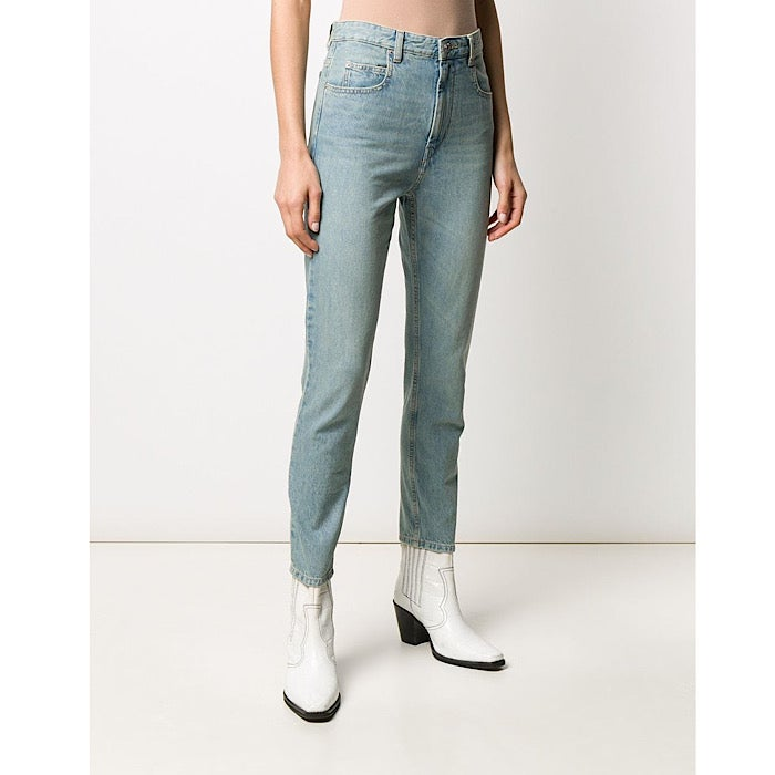 Image of ISABEL MARANT ÉTOILE JEANS NEAJ LIGHT BLUE