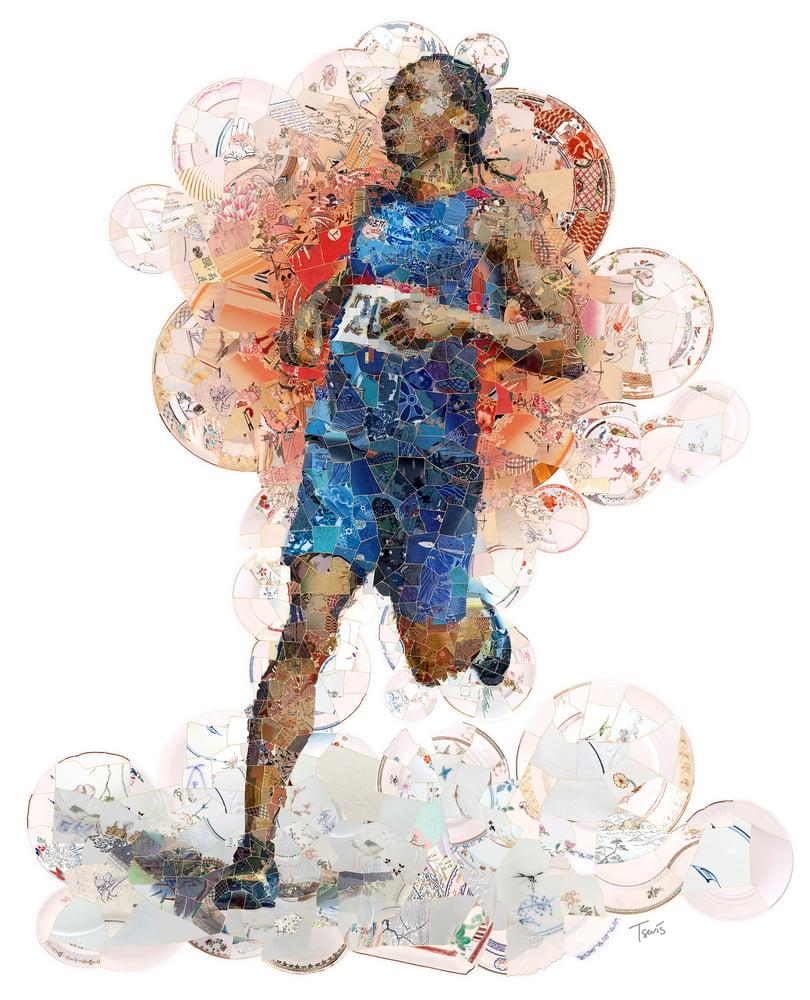 Image of KINTSUGI running athlete