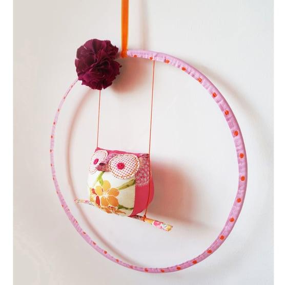 Image of Mobile Balançoire Coco Rose/Orange