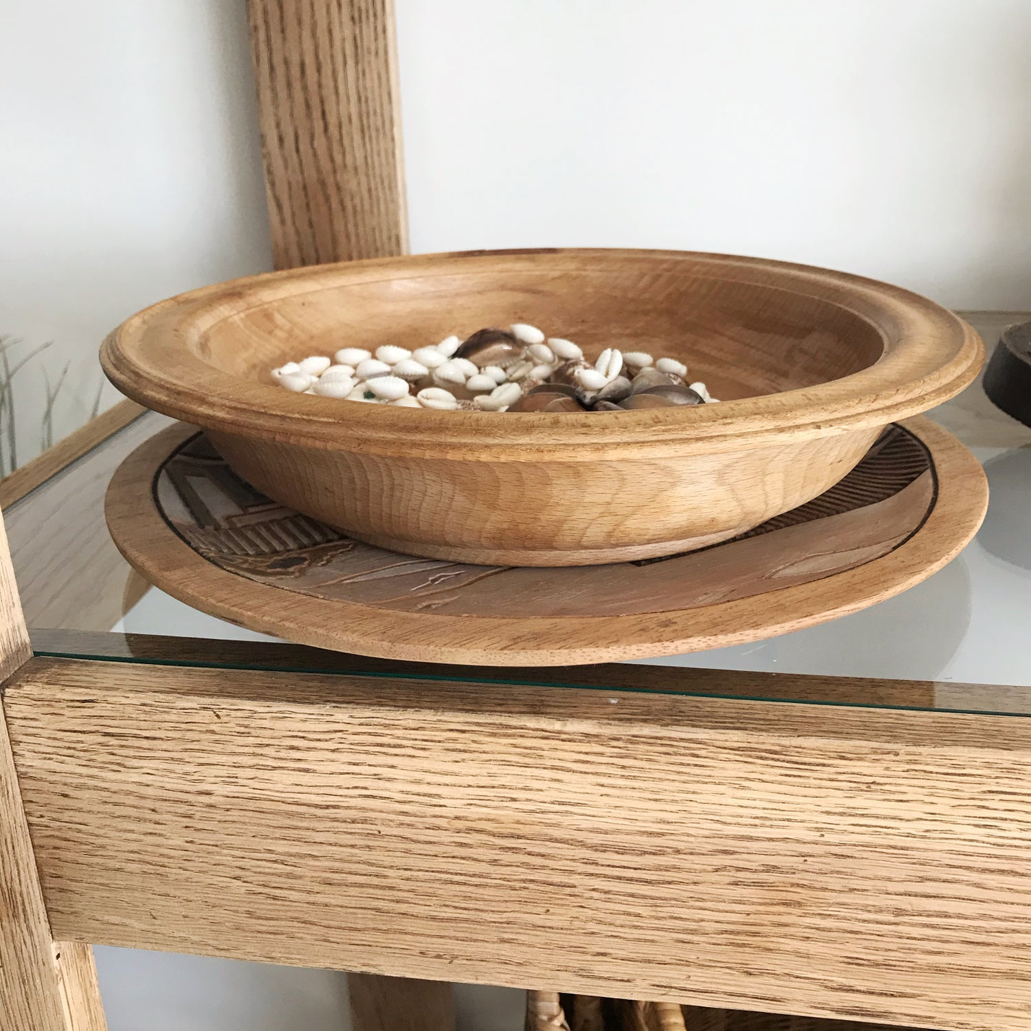 Image of Wooden Bowl #124