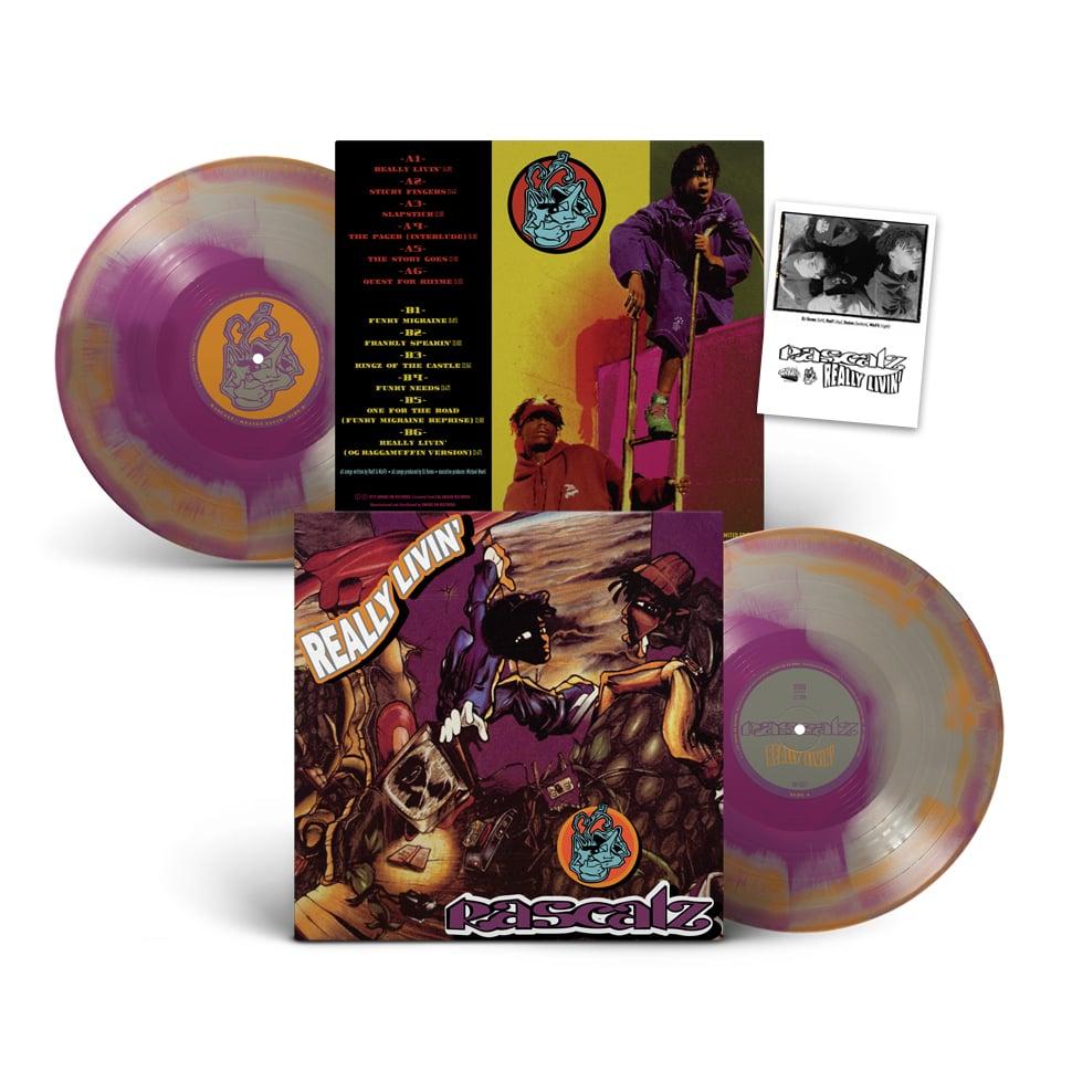 Image of Rascalz - Really Livin' Vinyl