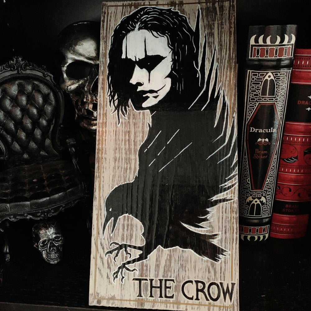 Image of The Crow Decor Sign