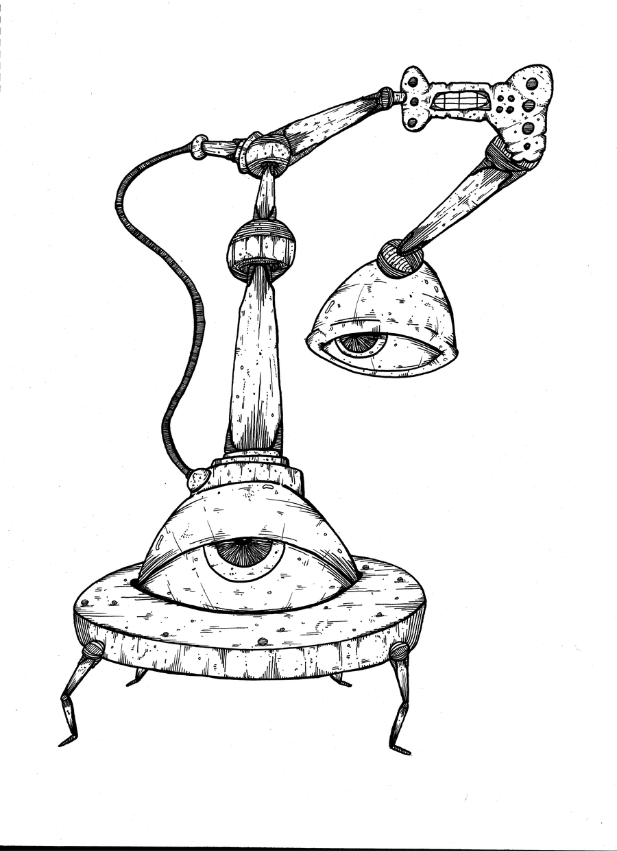 Image of New Mode Collector - Ink On Paper