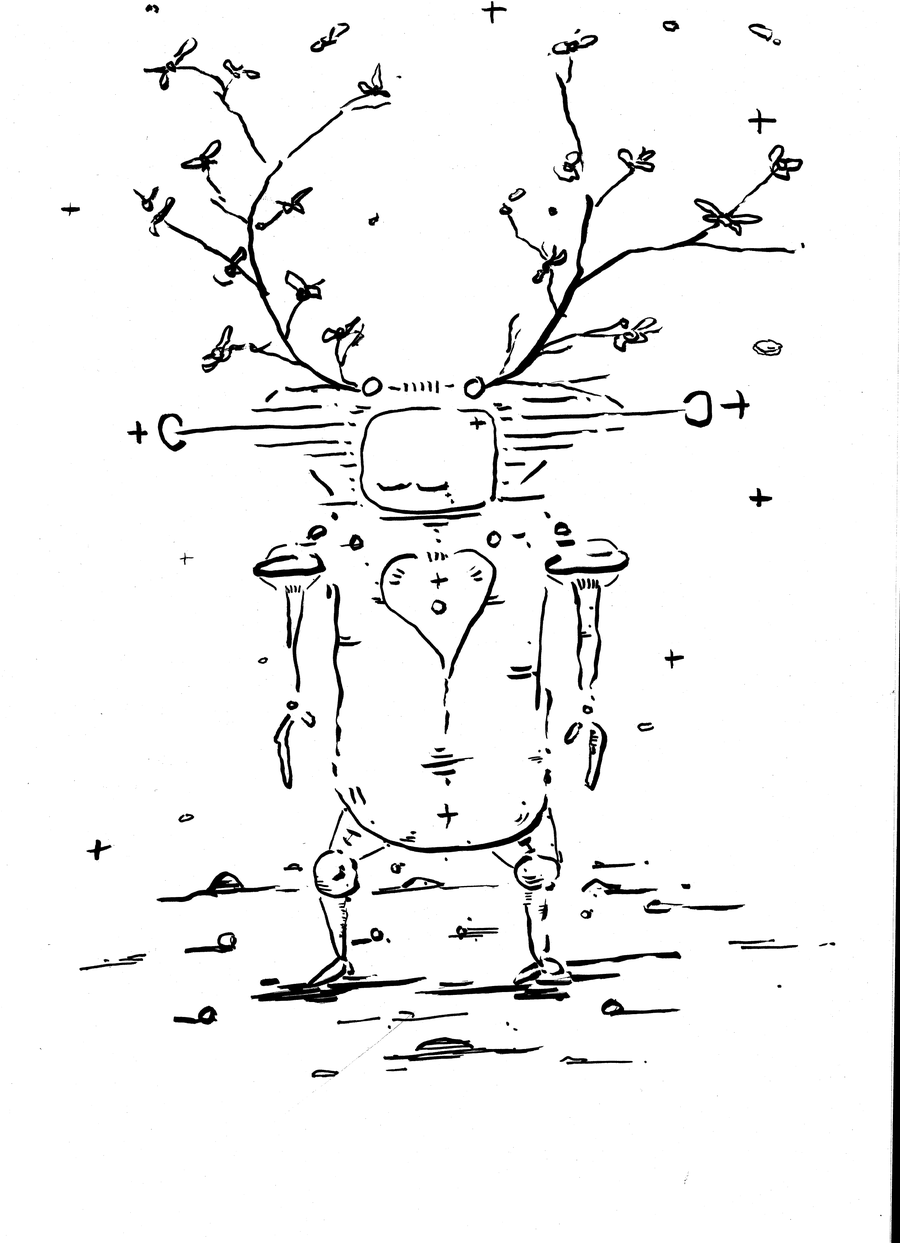 Image of New Beginners Take - Ink On Paper