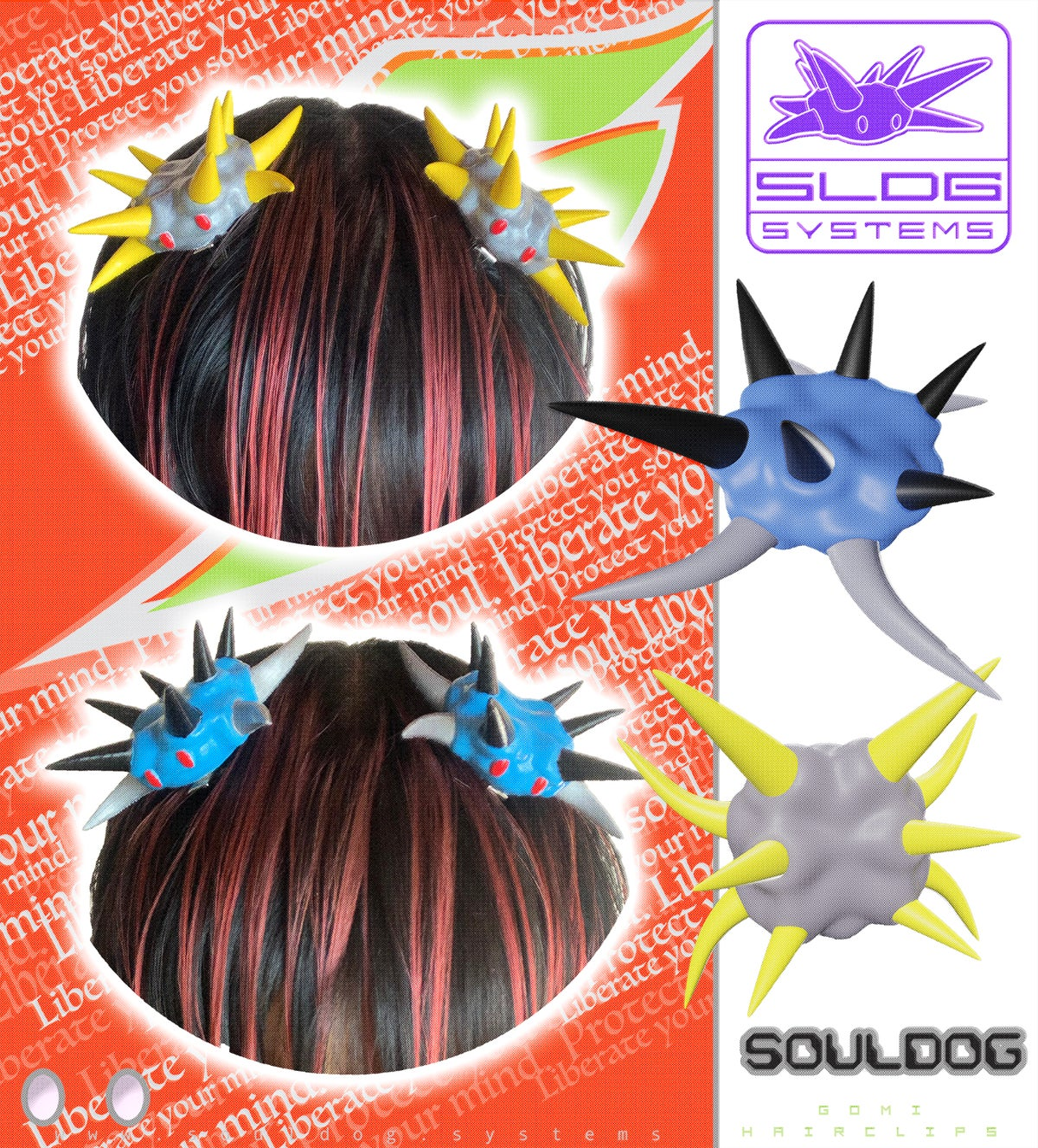 Image of Gomi Hair Clip & Lace Lock